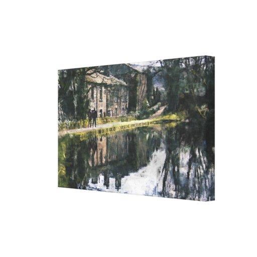 Canal Reflections Wrapped Canvas Canvas Prints