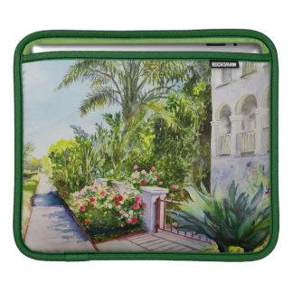 Canal Rose Garden iPad Sleeves