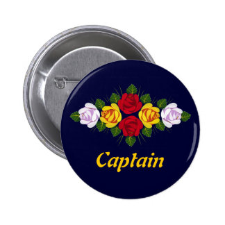 Canal roses pinback buttons