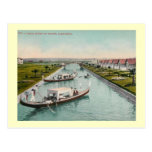 Canal Scene, Venice, California Vintage Post Cards