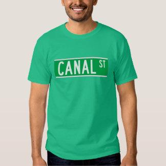 Canal St., New York Street Sign T-Shirt