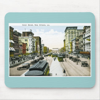 Canal Street, New Orleans, Louisiana Mouse Pad