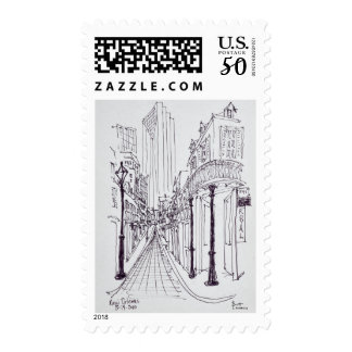 Canal Street | New Orleans, Louisiana Postage