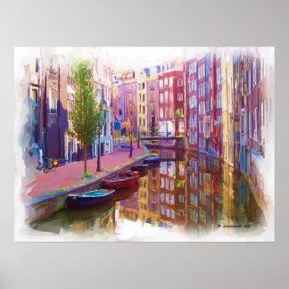Canal Street Print