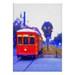 Canal Streetcar Line, Red Cars, Posters