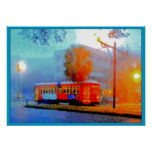 Canal Streetcar, Smudges in the Fog Poster