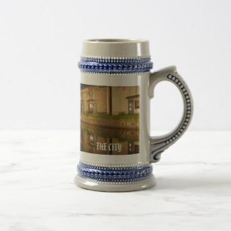 Canal, THE CITY Beer Stein