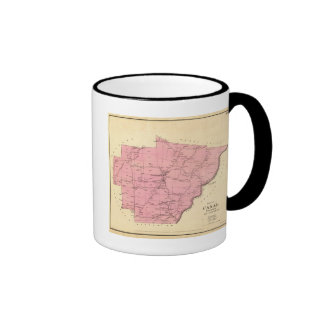 Canal Township Ringer Coffee Mug