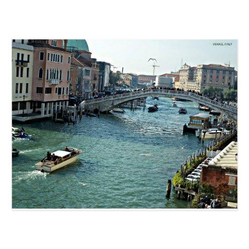 canal Venecia Italia de Venecia Tarjetas Postales