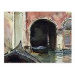 Canal veneciano de John Singer Sargent Postales