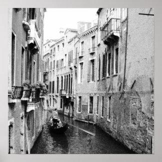 Canal veneciano impresiones