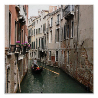 Canal veneciano posters