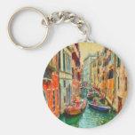 Canal veneciano Venecia Italia Llavero Personalizado