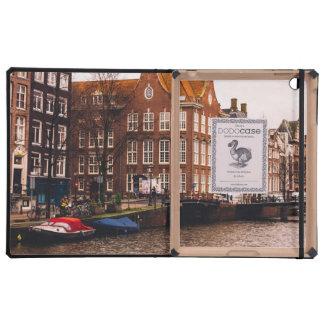 Canal y arquitectura de Amsterdam