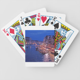Canale Grand in Venice Italy Bicycle Playing Cards