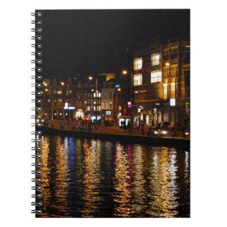 Canales de Amsterdam Libro De Apuntes