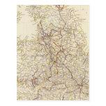 Canales de Inglaterra, ferrocarriles Postales