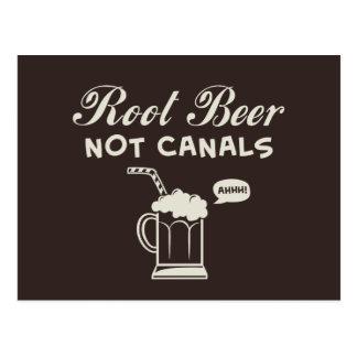 Canales de la cerveza de raíz no postal
