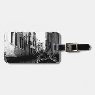 Canales de Venecia Etiquetas De Maletas
