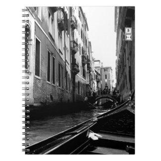 Canales de Venecia Libretas Espirales