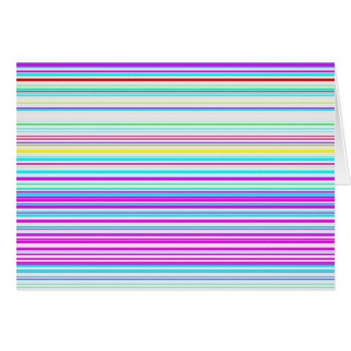 Canales reconstruidos tarjeta de felicitación