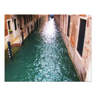 Canales venecianos escénicos - Venecia Italia Anuncios