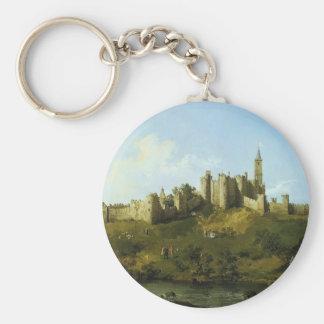 Canaletto- Alnwick Castle Key Chain