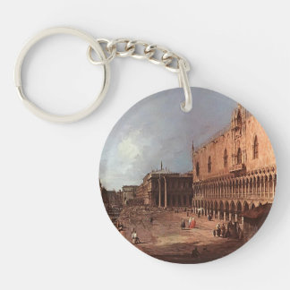 Canaletto- Doge's Palace Keychain