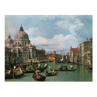Canaletto, el Gran Canal (1730) Tarjetas Postales