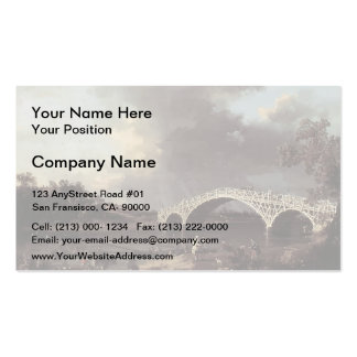 Canaletto- Old Walton Bridge over the Thames Double-Sided Standard Business Cards (Pack Of 100)