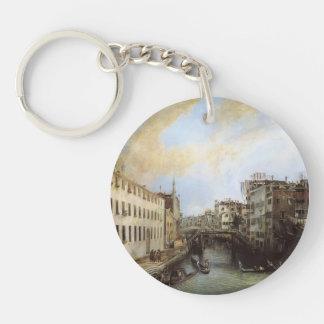 Canaletto- Rio dei Mendicanti Keychains