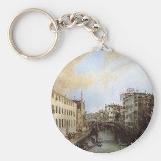 Canaletto- Rio dei Mendicanti Key Chains