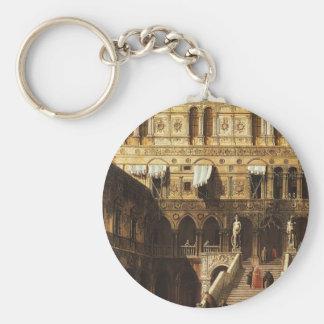 Canaletto- Scala dei Giganti Key Chains