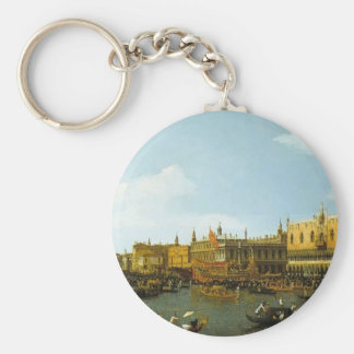 Canaletto- The Bucintoro, Venice Key Chains