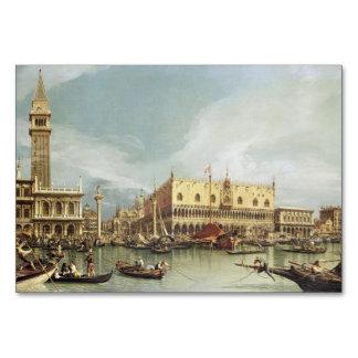 Canaletto - The Molo, Venice Card