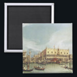"""Canaletto - The Molo, Venice Magnet<br><div class=""""desc"""">Canaletto - The Molo,  Venice</div>"""