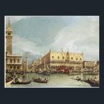 """Canaletto - The Molo, Venice Postcard<br><div class=""""desc"""">Canaletto - The Molo,  Venice</div>"""