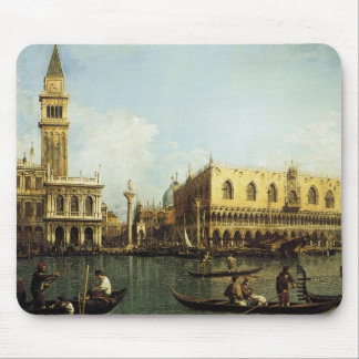 Canaletto The Pier Mouse Pad
