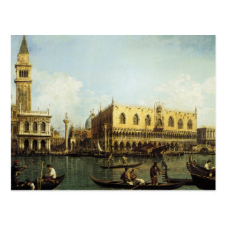 Canaletto The Pier Postcard
