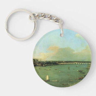 Canaletto- The Thames with St. Paul's Cathedral Keychain