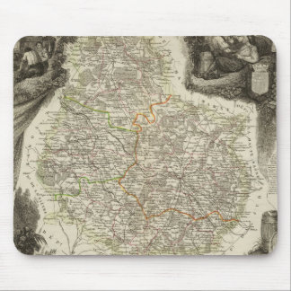 Canals and roads mouse pad