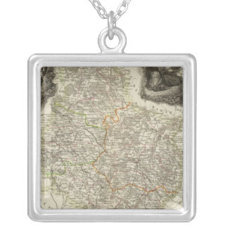 Canals and roads personalized necklace
