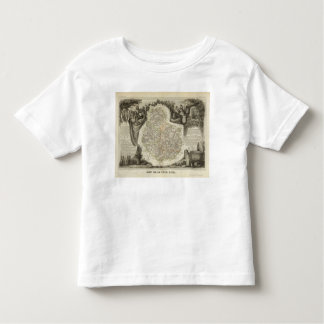 Canals and roads toddler t-shirt