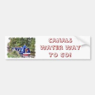 CANALS BUMPER STICKER