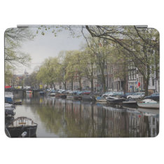 Canals In Amsterdam, Holland Ipad Air Cover at Zazzle