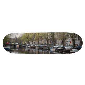 Canals in Amsterdam, Holland Skateboard