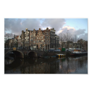 Canals in Amsterdam Photograph