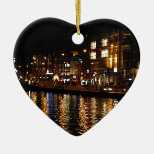 Canals of Amsterdam Christmas Tree Ornaments