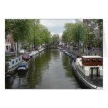 Canals of Amsterdam Stationery Note Card