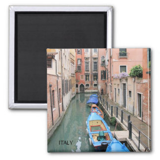 CANALS OF VENICE,  ITALY 2 INCH SQUARE MAGNET